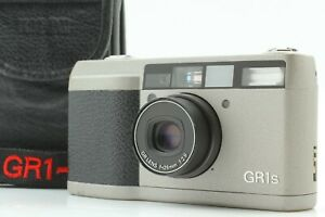 【 Near Mint, LCD works! 】 RICOH GR1s Point & Shoot Film SLR Silver From JAPAN
