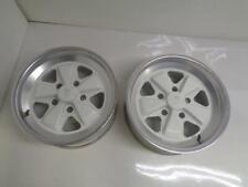 1 Used Pair Porsche 911 Turbo Rear Fuchs Wheels 16x7 Et 233 5x130 911362115 Wr