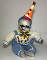 "Creepy Laughing CLOWN Doll Haunted Prop Halloween 18"""