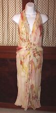 J.MENDEL Silk Dress Floral & Sequin size 4