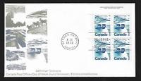 Canada FDIC - 1972, Landscapes: Polar bears, North Canada #597 - Lot AUG217