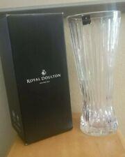 Crystal Vase Royal Doulton Manhattan 30cm (11.8 inches) tall
