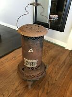 Antique Vtg Perfection Smokeless Oil Kerosene Heater Stove Salvage Shabby Rustic