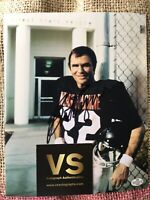 "Burt Reynolds Autographed 8 X 10 ""The Longest Yard"" Movie Photo COA CERTIFIED"