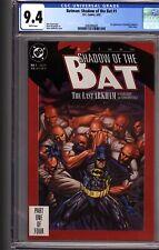 BATMAN SHADOW OF THE BAT # 1 CGC