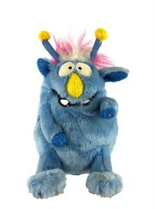 Gemmy Mitch Monster Maniacs Blue Plush Muppets Sings Mahna Mahna WORKS