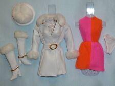 Barbie Vintage Repro MOD Red, White 'n Warm Fashion~ De-Boxed ~ Free U.S Ship