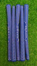 5 Golf Pride Victory Swing Rite .560 Undersize Junior Golf Grips - Blue