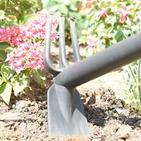 Neat Ideas Dual Tool - THE ALL IN ONE GARDEN HAND TOOL PLASTIC Hoe Or Prongs