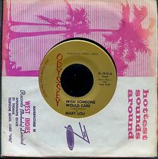 7inch MARY LOU wish someone would care / john, you're wrong NOTHERN SOUL EX