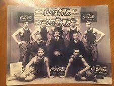 Tin Sign Vintage Coca-Cola Basketball