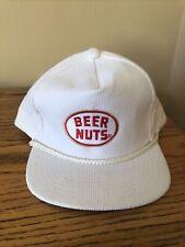 Vintage Beer Nuts Hat. Snapback. Unworn. Clean