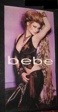 "HUGE Original 2003 Advertising Poster DS 26""X48"" RARE STYLE bebe MODEL'S NAME?"