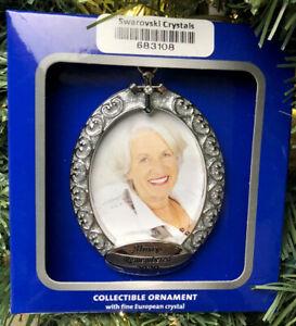 "2020 Harvey Lewis ""Always Remember"" Loved  One Christmas Ornament Swarovski"
