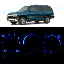 Blue AC Climate Control Bulb Temperature Heater Knob LED Lights for Tahoe 95-99