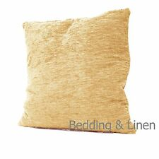 """Plain Luxury Chenille Cushions Super Soft Scatter Cushion Covers-18""""x18""""-22""""x22"""""""