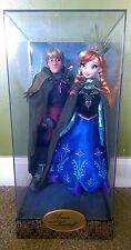 Anna & Kristoff Limited Edition Disney Store Fairytale Designer Collection Dolls