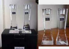 Waterford Crystal JOHN ROCHA GEO Candlesticks - NEW!