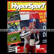 HYPERSPORT N°8 RUGGIA YAMAHA YZF 750 SUZUKI GSXR KAWASAKI ZXR 24H DUMANS GP 1993