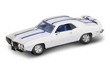 1/43 YAT MING 94238 - 1969 PONTIAC® FIREBIRD® TRANS AM, WHITE, DIE-CAST, NEW