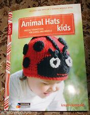 Animal Hats Tiermützen stricken Kinder Handarbeitsheft Handarbeitsbuch
