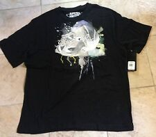 And One Black  T-Shirt Men's Size XL Extra-Large 100% Cotton New MSRP $20+