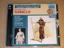 2 CD RARES ARKADIA / NABUCCO / VERDI / VITTORIO GUI / EXCELLENT ETAT