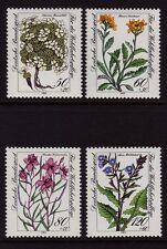 W GERMANIA 1983 ALPINA fiori SG 2038/41 MNH