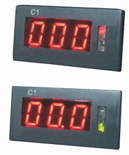 Mini AC Amp Volt Combo Meter Gauge Red LED 100A 600V With Current Transformer SD