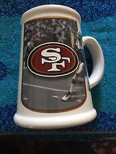 Qty: 2 - San Francisco 49ers - Nfl Mugs - Ceramic - 16 oz.