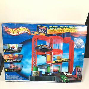 Vintage Mattel Hot Wheels World Car Wash NIB Sealed NEW - RARE PLAYSET 1997