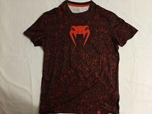 VENUM Performance T Shirt Size Medium UFC MMA Training Tee