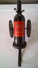 """Pour boire un """"canon"""", l'affût Porte-bouteille en fer forgé"""