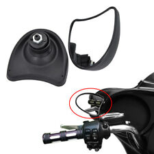 Black Fairing Mount Mirrors Fit For Harley Ultra Classic Electra Glide 1996-2013