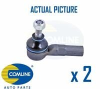 2 x NEW COMLINE FRONT OUTER TRACK ROD END RACK END PAIR OE QUALITY CTR3078