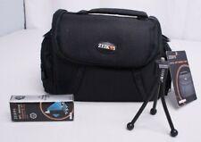 Zeikos Deluxe Soft Medium Camera Case Bag Black ZE-CA48B Bundle New Other