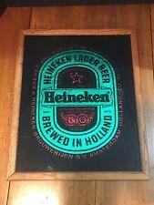 Vintage Bar Advertising Sign Heineken Beer