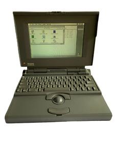 Apple Macintosh PowerBook 165C Vintage Color Working Mint! Manual Discs Charger