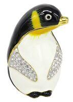 RUCINNI Penguin Jeweled Trinket Box