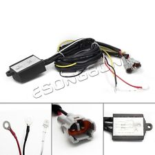 12V LED DRL Relay Daytime Running Light Harness Auto Control On/Off Switch