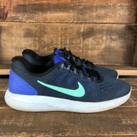 Nike Womens Lunarglide 8 Blue AA8677-500 Running Sneakers Shoes Size 8.5