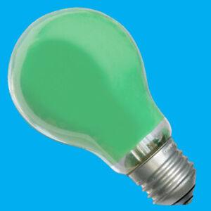 10x 18W (=25W) Coloured Halogen GLS Light Bulbs, Edison Screw, ES, E27, Dimmable