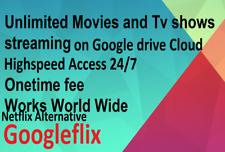 Google Drive Awesome Plex Nflix Emby Sub Lifetime + Huge Best Content