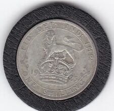 1925   King  George   V   Silver  Shilling  -  British Coin