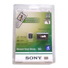 NEW GENUINE SONY 4GB Memory Stick Micro M2 Ericsson PSP Go w Slider Readser OEM