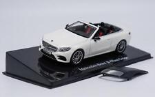 1:43 Mercedes-Benz E-Class E-Klasse Coupe Cabriolet Pearl White Car Model