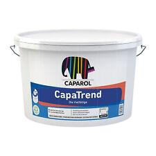 Caparol CapaTrend 12,5 Liter WEISS STUMPFMATT Innenfarbe Wandfarbe Deckenfarbe
