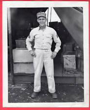 1944 USMC Sgt. Gregory of Perth Amboy NJ Played Florida State League News Photo