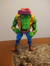 READ DESC FIRST NECA TMNT Turtles in Time Leatherhead Wave 2 Loose Complete