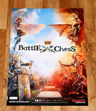 Battle vs. Chess / Two Worlds II 2 Very Rare poster PS3, Xbox 360